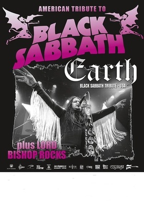 Bild: Earth – The Black Sabbath-Tribute – Show (USA) - Special Guests:  LORD BISHOP rocks
