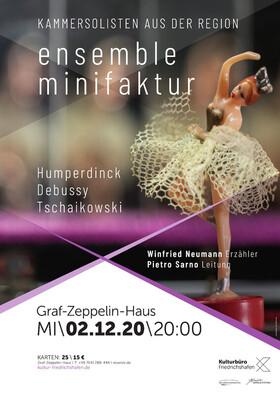 ensemble minifaktur - Piedro Sarno Leitung / Winfried Neumann Erzähler