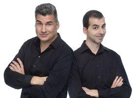 Bild: Kunz & Brosius Comedy-Show - Peter Kunz und Luca Brosius auf Comedy-Tour