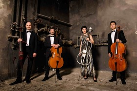Bild: Arcis Cello Quartett