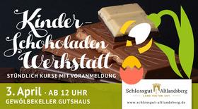Bild: Kinder-Schokoladenwerkstatt - Oster-Schokospaß