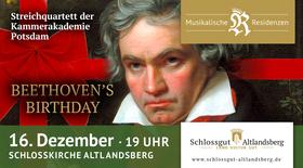 Bild: Beethovens Birthday Streichquartette