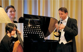 Bild: Salon-Trio Dresdner Solisten im Palais Zabeltitz -