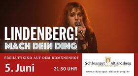 Bild: Kino in der Schlosskirche - Lindenberg! Mach Dein Ding