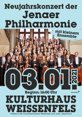 Bild: Neujahrskonzert der Jenaer Philharmonie