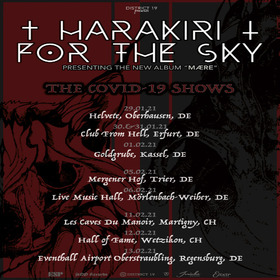 Bild: Harakiri For The Sky - Maere Album Release Tour 2021 - COVID EDITION