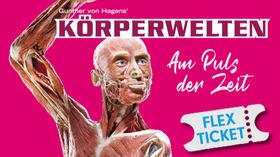 Bild: KÖRPERWELTEN Salzburg - Am Puls der Zeit - Flex Ticket