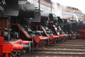 Bild: Zum 13 Dampfloktreffen nach Dresden