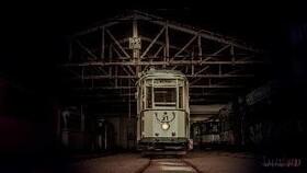 Bild: Glühweinfahrt mit der Halberstädter Straßenbahn