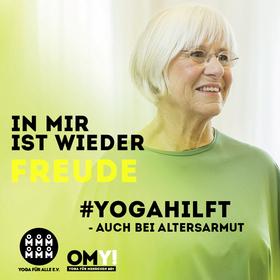 Bild: Fortbildung OMY! für Yogalehrer*innen - Yoga für Menschen 60plus mit geringfügigen Einkommen (Online-Fortbildung)