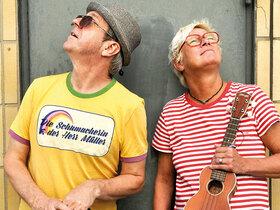 Bild: Die Schumacherin und der Herr Müller - das Duo mit Antje Schumacher und Claus Müller