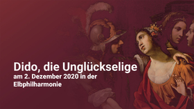 Bild: Dido, die Unglückselige - GREAT MINDS AGAINST THEMSELVES CONSPIRE AND SHUN THE CURE THEY MOST DESIRE