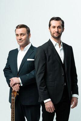 Bild: Stefan Leonhardsberger & Martin Schmid - Die Leonhardsberger & Schmid Show