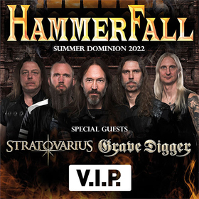 Bild: HAMMERFALL - Summer Dominion Open Air 2021 - VIP