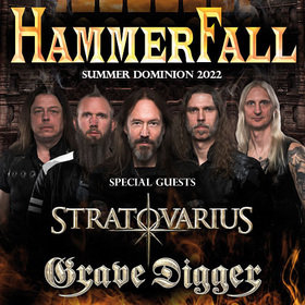 Bild: HAMMERFALL - Summer Dominion 2021