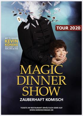 Bild: Magic Dinner Show mit Kevin Köneke - ERSTKLASSIGE ZAUBERKUNST - WUNDERBAR KOMISCH