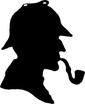 Bild: Sherlock Holmes und die Puppe am Galgen