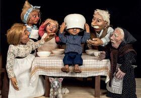 Bild: Michel in der Suppenschüssel