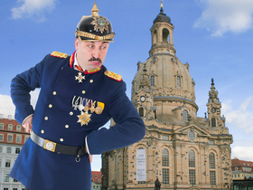 Bild: Dresden: Lustige Rundfahrt in sächsischer Mundart - Barokkokko