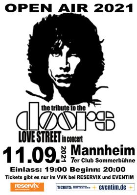 Bild: Love Street - Tribute To The Doors