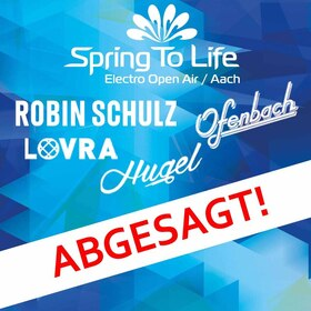 Bild: Spring To Life Electro Open Air - Robin Schulz, Ofenbach, Hugel, Lovra, u.a.m.