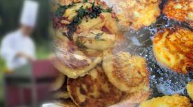 Bild: Kochkurs in der Gutshausküche