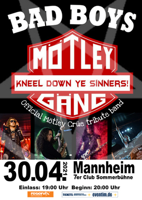 Bild: Mötley Gäng - Mötley Crüe Tribute