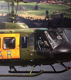 Bild: Bell UH 1 | Flugsimulator