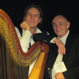 Bild: Harfe & Geschichten - Motto: