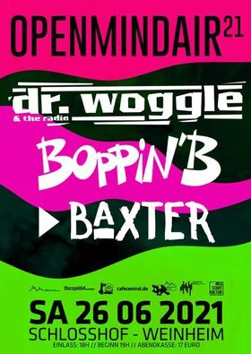 Bild: Dr.Woggle and the Radio, Boppin B, Baxter