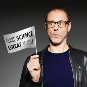 27. Festival der Kleinkunst: VINCE EBERT - Make Science Great Again!