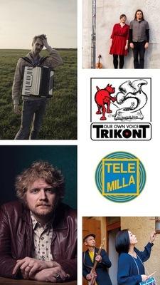 Bild: Trikont Plays Trikont Plays Trikont                                 mit Coconami, Keglmaier, Maxi Pongratz & Philip Bradatsch