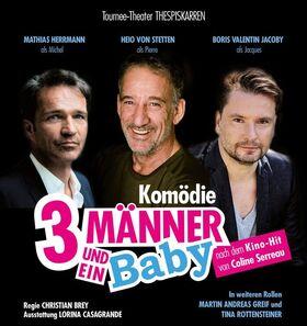 Bild: Drei Männer und ein Baby - Komödie nach dem Film-Hit von Coline Serreau
