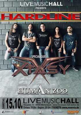 Bild: Hardline + Xtasy - TOUR 2022