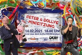 Bild: Peter & Dollys Mini-Sitzung - LiveStream aus dem kulturWERKwissen