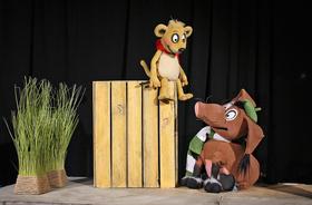 Bild: Tafiti und Pinsel - zwei Freunde und ein Abenteuer - Ein Theaterstück für die ganze Familie (ab 4 Jahren)