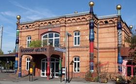 Bild: Uelzens schönste Seiten - Hansestadt Uelzen & Hundertwasser-Bahnhof