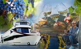 Bild: Wein und Genuss - Herzlich Willkommen zur kulinarischen Erlebnisfahrt auf dem Rhein