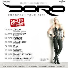 Doro - European Tour 2022 - + special guest: King Creature