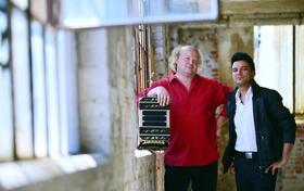 Bild: Terrassenkonzert Duo Tango Amoratado