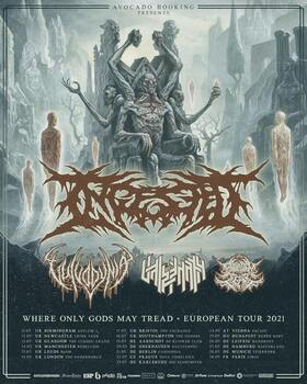 Bild: INGESTED - Where Only Gods May Tread Tour