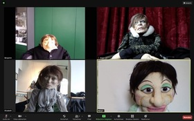 Bild: Figurentheater-Workshop für Neugierige – digital