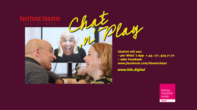 Bild: Fastfood Theater - Best of Impro: Chat ´n` Play - - Online- Veranstaltung -