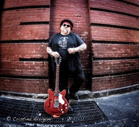 Bild: POPA CHUBBY (NYC, USA) - `More than 30 years of Blues, Rock and Soul`