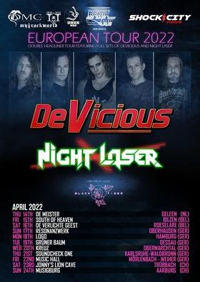 Bild: DeVicious & Night Laser - European Tour 2022