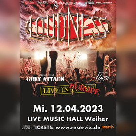 Bild: Loudness - Live In Europe 2022