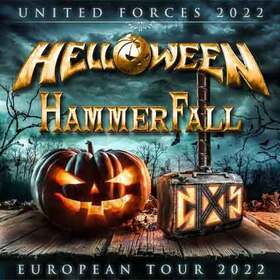 Bild: HELLOWEEN & HammerFall - UNITED FORCES 2022