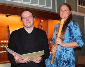 Bild: Virtuose Klänge für Klarinette, Flöte und Orgel