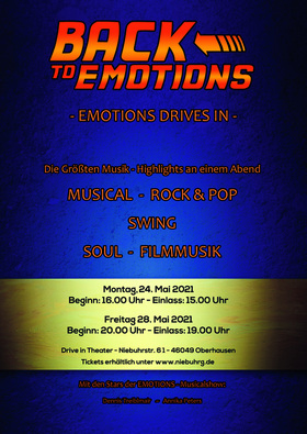 Bild: Back to Emotions - Emotions drives in