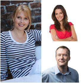 Bild: Lass die Leute reden ... mit Katrin Huß, Roswitha Schreiner und Michael Hillmann